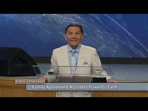 Family Agreement Activates Powerful Faith