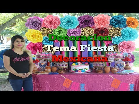 Mesa De Postres Fiesta Mexicana - UCr392w2IMSFzSYVn1K8fP4g