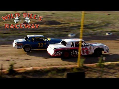 Wild Bill's Raceway IMCA Hobby Stock Main Event 7/2/21 - dirt track racing video image