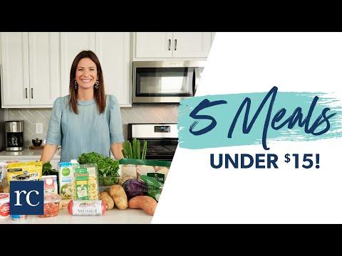 5 Meals, 5 Ingredients: All Under $15