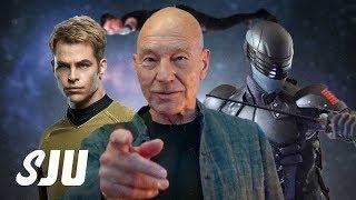 Star Trek Leads CBS & Viacom Merger | SJU