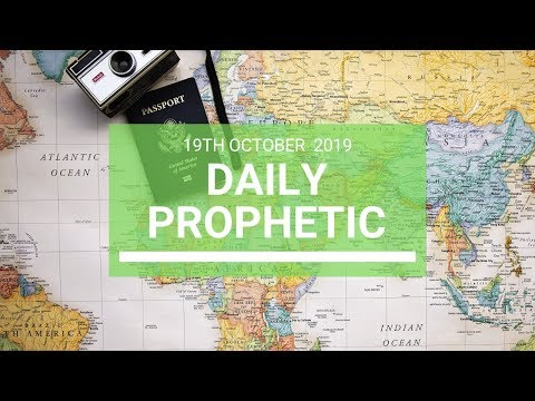 Daily Prophetic 19 October Word 7