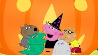 Peppa Pig Full Episodes - Peppa's Pumpkin Party - Cartoons for Children