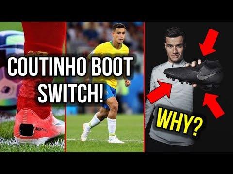 WHY DID COUTINHO SWITCH HIS FOOTBALL BOOTS? *NO MORE MERCURIALS!* - UCUU3lMXc6iDrQw4eZen8COQ