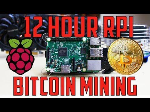 Raspberry Pi Bitcoin Mining For 12 Hours! - UCIKKp8dpElMSnPnZyzmXlVQ