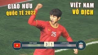 PES 19 | Giao hữu Quốc Tế - Quang Hải vs Salah | VIETNAM vs LIVERPOOL - Giấc mơ Bóng Đá VIỆT NAM