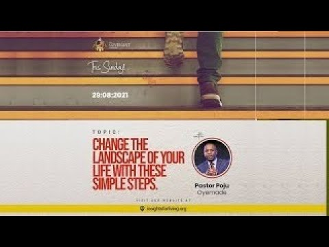 Change The Landscape Of Your Life With These Simple Steps  3rd Service  29082021