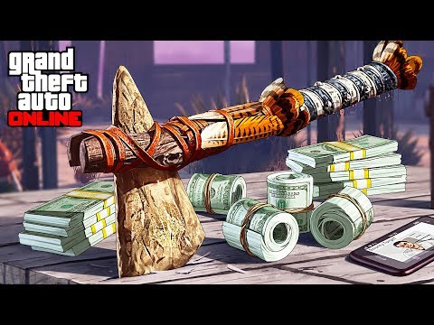 Bounty Hunter Missions & Red Dead Redemption 2 Stone Hatchet Location! (GTA 5 Online) - UC2wKfjlioOCLP4xQMOWNcgg