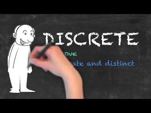 Discreet vs Discrete - English Grammar - Teaching Tips