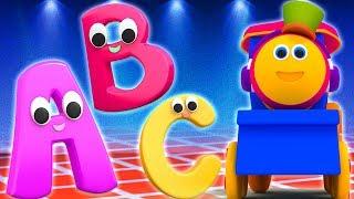 боб поезд | большая фонетическая песня | учить азбуку | Big Phonics Song | Learn Phonics With Bob