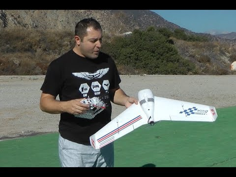 Flight Review of Sonic Model F1 Racing Wing - UCecE6SjYRmZHqScnmFcl5MA
