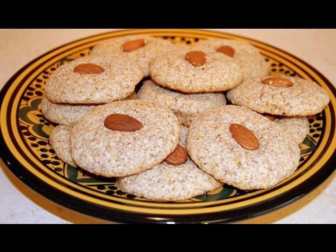 Moroccan Almond Macaroons Recipe - CookingWithAlia - Episode 56 - UCB8yzUOYzM30kGjwc97_Fvw