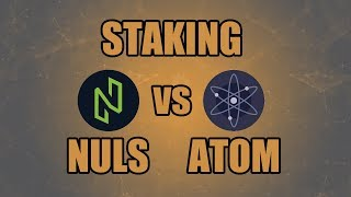 Staking Crypto: NULS vs ATOM  -  Why I chose NULS over COSMOS (ATOM)