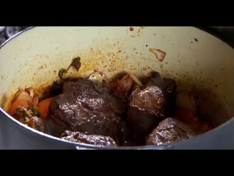 Angela Hartnett's Slow-Cooked Beef Cheeks & Creamy Polenta