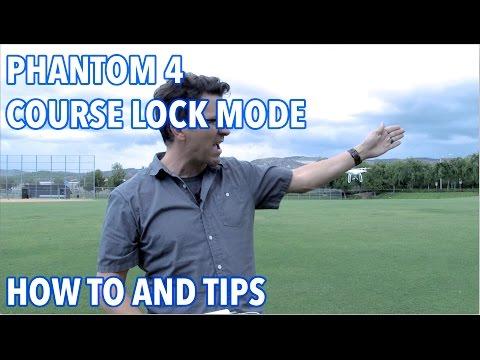 DJI Phantom 4 Course Lock Intelligent Flight MODE