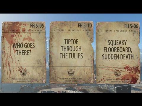 Fallout 4 - U.S. Covert Operations Manual Magazine Locations - UCKy1dAqELo0zrOtPkf0eTMw
