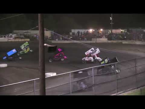 HOT Sprints 08 18 17 - dirt track racing video image