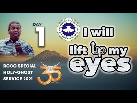 RCCG MARCH 2021 SPECIAL HOLY GHOST SERVICE  DAY 1