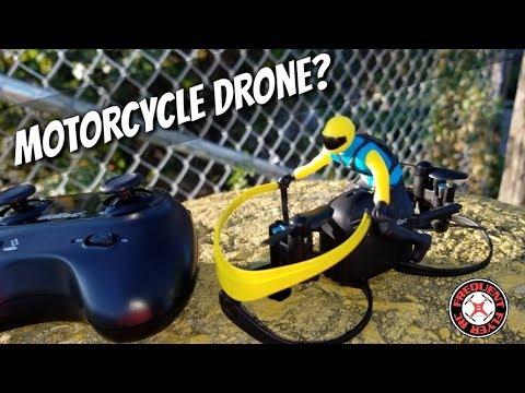 Sanrock / UDI U66 Motorcycle Drone Outdoor Test Flight - UCNUx9bQyEI0k6CQpo4TaNAw