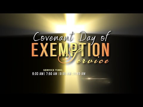 DOMI STREAM: COVENANT DAY OF EXEMPTION SERVICE  17, JANUARY 2021  FAITH TABERNACLE OTA