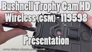 Présentation du Bushnell Trophy Cam HD Wireless