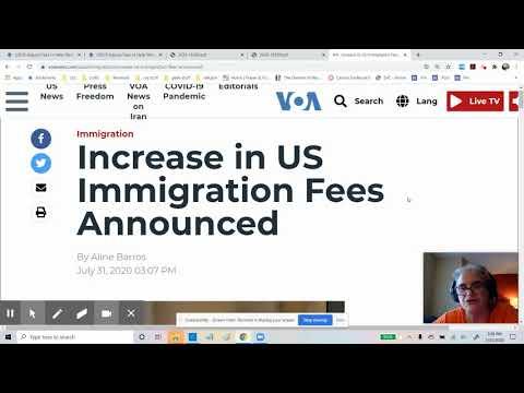 USCIS Announces Fee Increase!