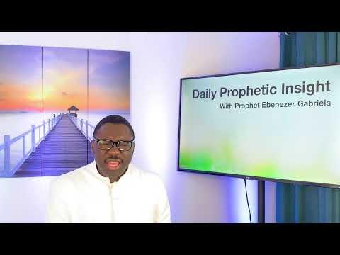 Prophetic Insight Mar 18th, 2021
