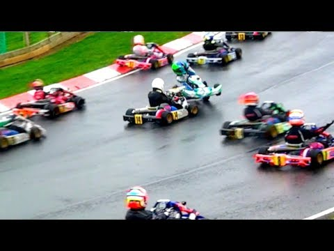 Love F1?.... YOU WILL LOVE THIS! Kids aged 8+ in EPIC Karting Battle.. S1 2018: Rd 1, IAME Cadet - UCjAUMWD5ENc2kgkuMAwqFrQ