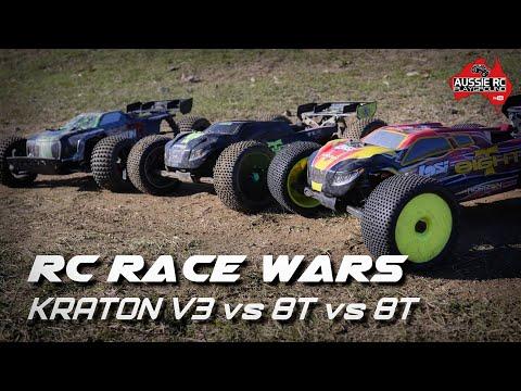 RC RACE WARS: Losi 8T vs Kraton vs Losi 8T - UCOfR0NE5V7IHhMABstt11kA