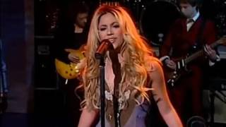 Underneath Your Clothes (Live On Letterman 2002)