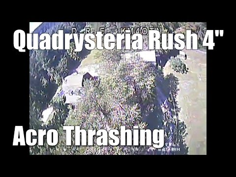 """Quadrysteria Rush 4"""" Racing Quadcopter - Flight Review and Acro Maiden - UCX3eufnI7A2I7IkKHZn8KSQ"""