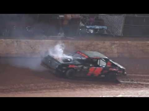 Mini Stocks @ 411 Motor Speedway Oct. 12 , 2013 - dirt track racing video image