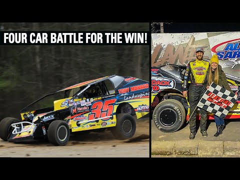 Mike Grabs His First Win Of The Season! | Albany Saratoga Speedway - dirt track racing video image