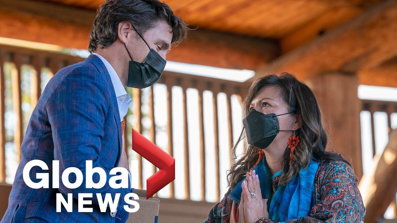 Trudeau visits Tk'emlups te Secwepemc Nation in Kamloops, BC | LIVE