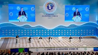 Turkmenistan hosts the 1st Caspian Economic Forum focused on boosting industry, trade and tourism