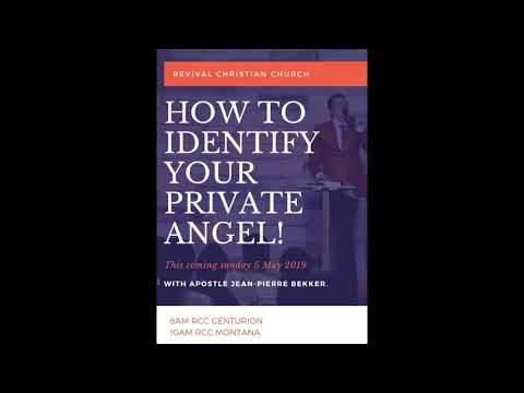 IDENTIFY YOUR PRIVATE ANGEL!