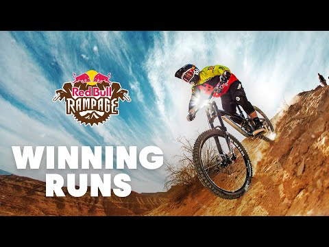 The Winning Runs of Red Bull Rampage (2010-2018) - UCXqlds5f7B2OOs9vQuevl4A