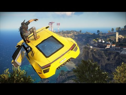 Just Cause 3 Square Enix Conference Reactions - IGN Live: E3 2015 - UCKy1dAqELo0zrOtPkf0eTMw