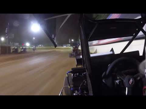 Ride along with Norman, Oklahoma's Christopher Bell for the 600cc Winged Micro Sprint Feature Event at the Millbridge Speedway on June 3rd, 2020. - dirt track racing video image