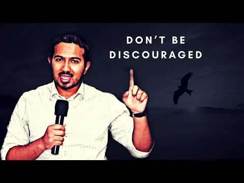 DON'T ALLOW YOURSELF TO BE DISCOURAGED, POWERFUL MESSAGE & PRAYER WITH EVANGELIST GABRIEL FERNANDES