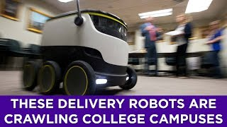 Colleges across the U.S. have deployed these delivery robots