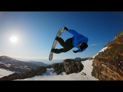 GoPro: Sunset Snowboarding with Sage Kotsenburg, Halldór Helgason and Sven Thorgren in 4K