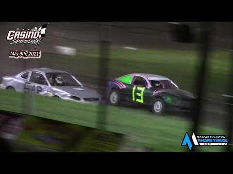 Casino Speedway WISSOTA Hornet Races (5/9/21) - dirt track racing video image