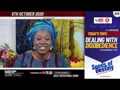 Dr Becky Paul-Enenche - SEEDS OF DESTINY - TUESDAY OCTOBER 6, 2020