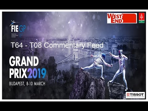 Budapest Epee Grand Prix 2019 Main Pistes Daily Feed