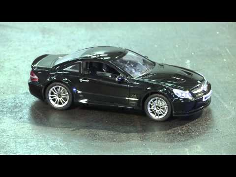 1/18 Mercedes SL 65 AMG Black Series