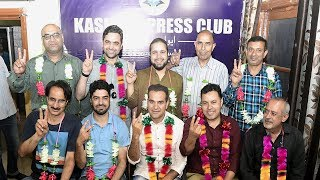 Kashmir Press Club president elected in its maiden election