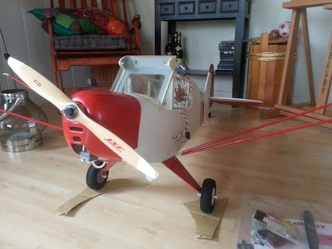 Great Planes Piper J-3 Cub 60 - Scary Maiden - UCz3LjbB8ECrHr5_gy3MHnFw