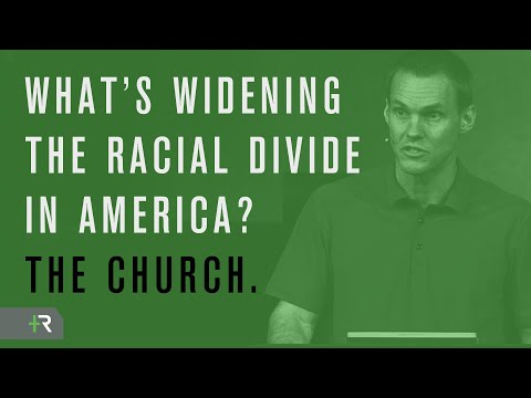 What Widens the Racial Divide in America? The Church.