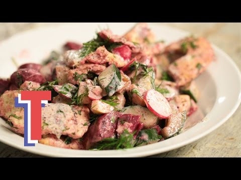 Beetroot and Dill Fattoush | Eat Clean